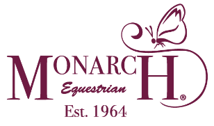 Monarch Equestrian Burgundy Logo